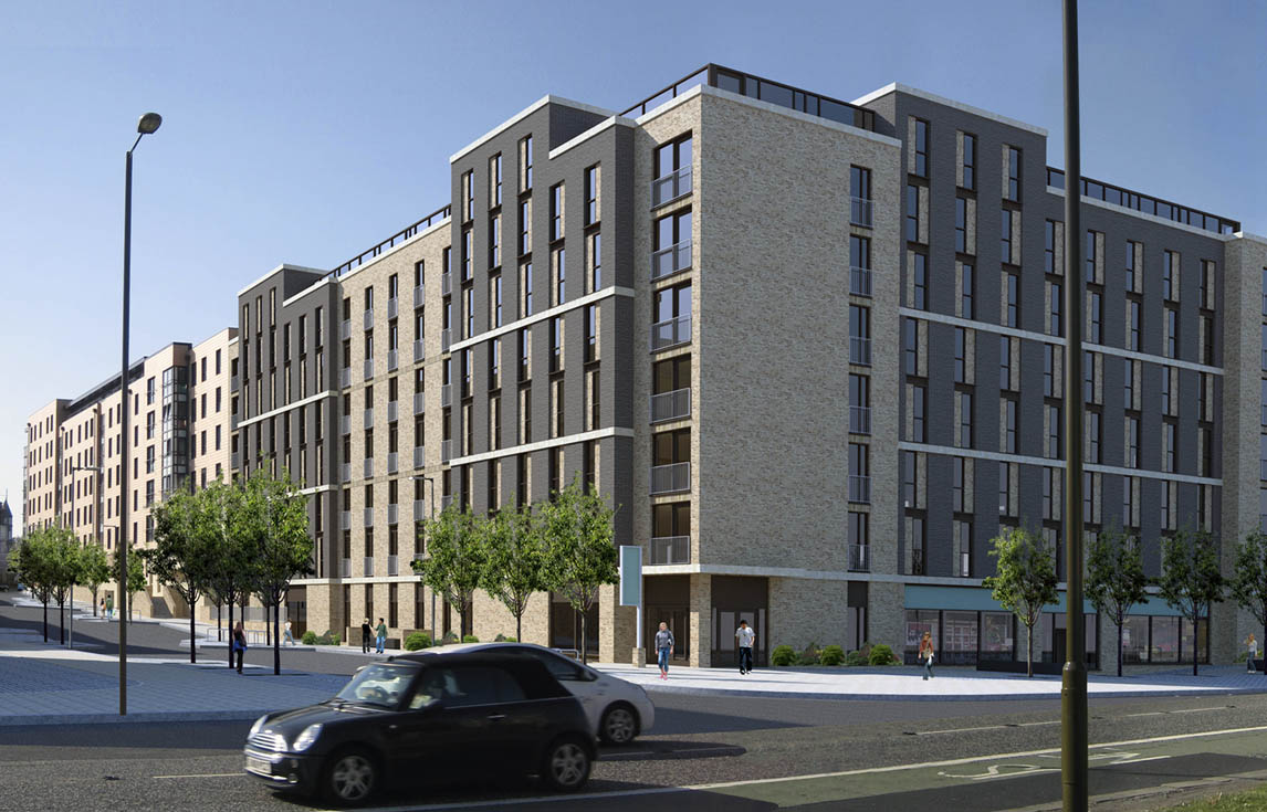 Paul welsh architects edinburgh for Housing construction companies